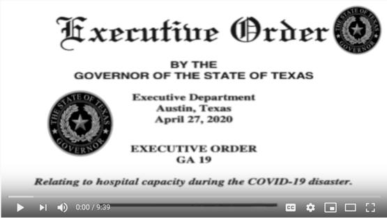 Executive Order #19