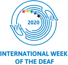International Week of the Deaf symbol