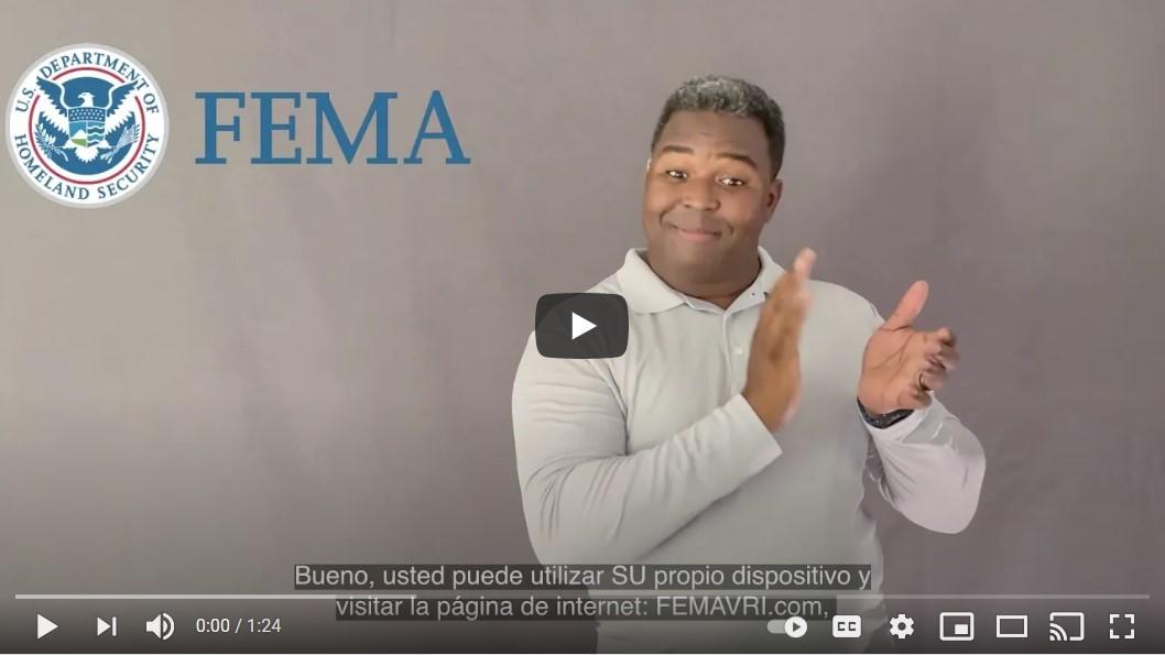 FEMA accesible PRSL still