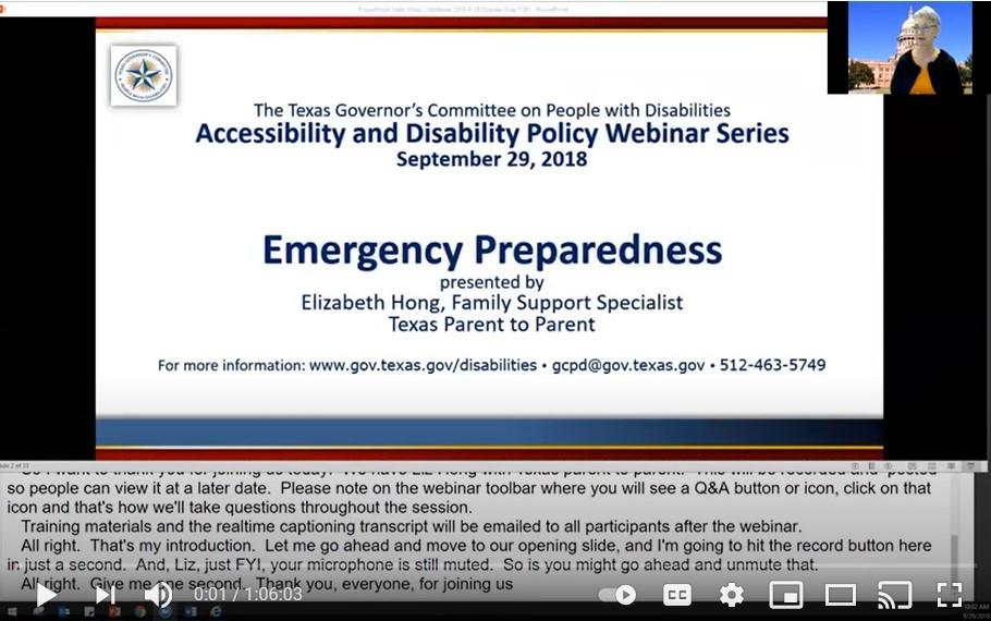 Emergency Preparedness and Disaster Planning screengrab