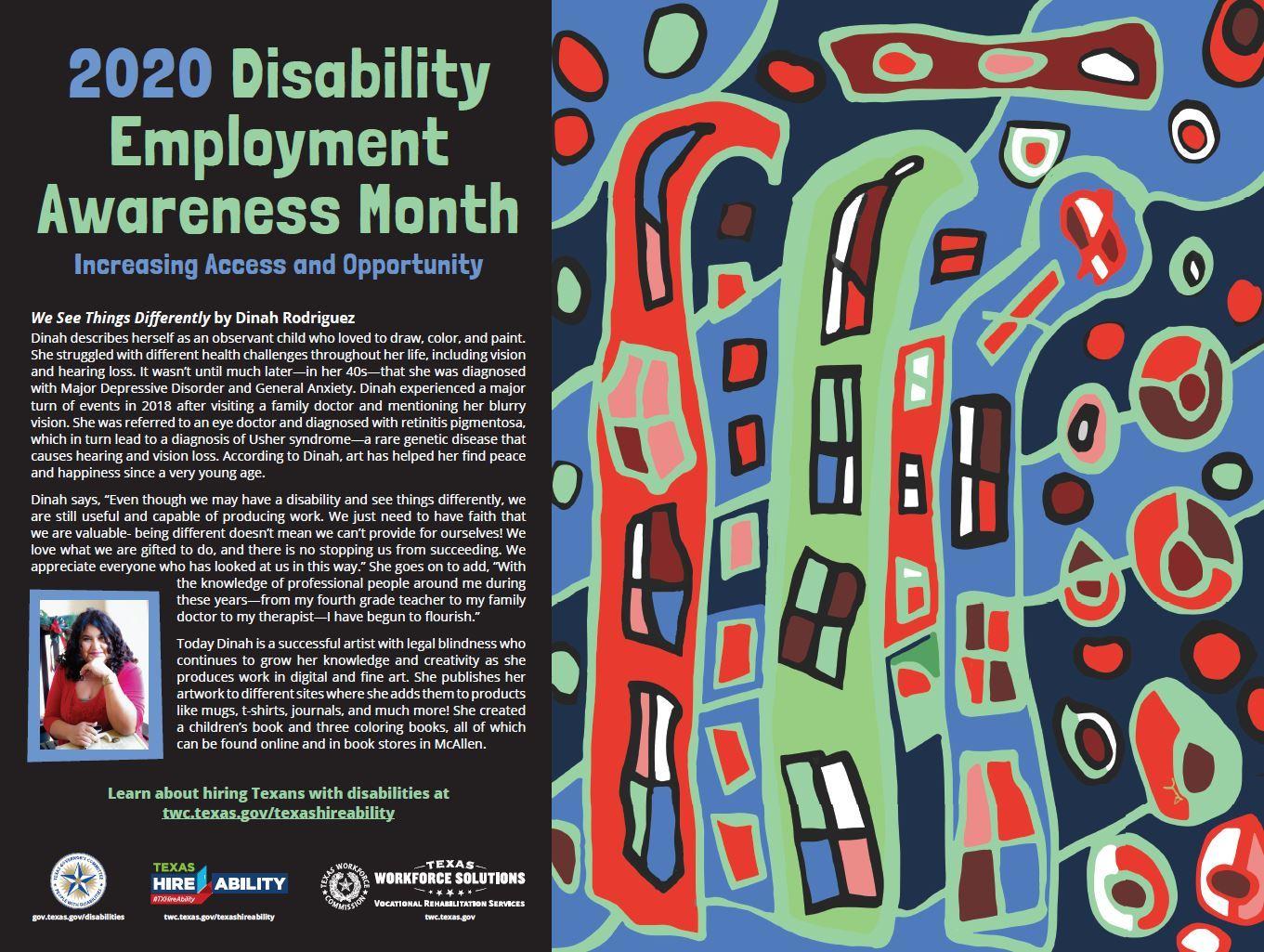 2020 Disability Employment Awareness Month