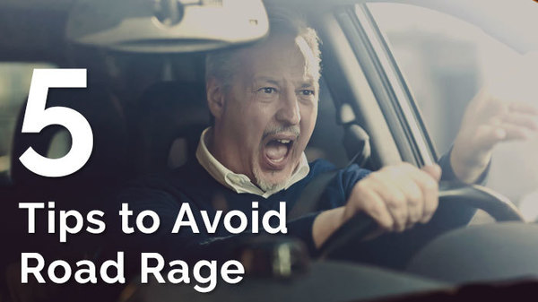 5 Tips to Avoid Road Rage