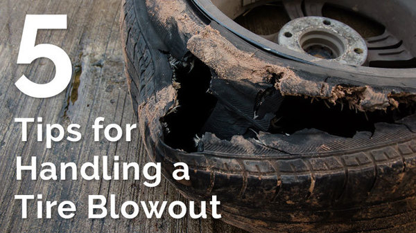 5 Tips for Handling a Tire Blowout