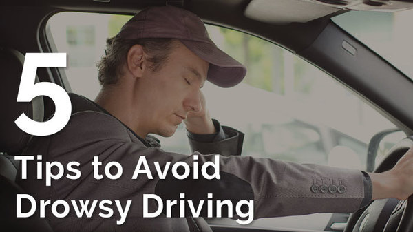 5 Tips to Avoid Drowsy Driving