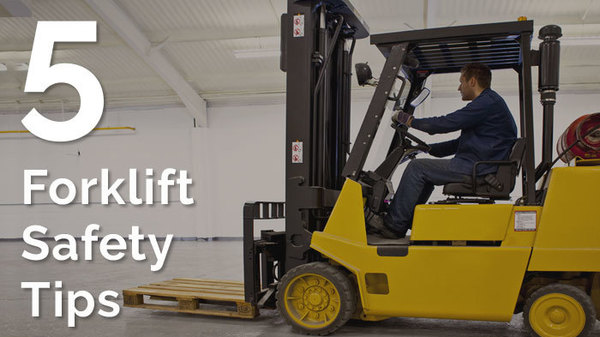 5 Forklift Safety Tips