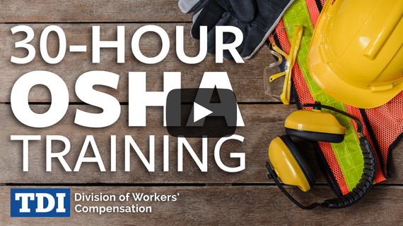 30-Hour OSHA training