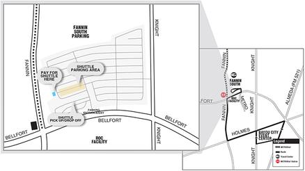 311 Shuttle Map