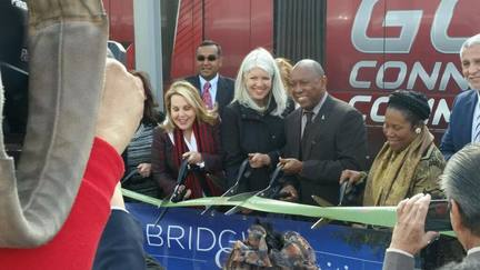 Green Line Ribbon Cutting
