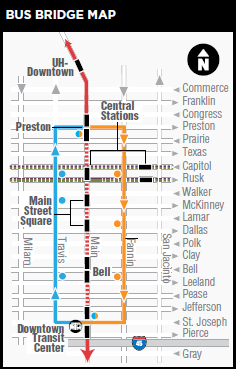 red line map
