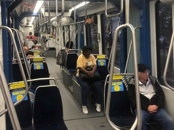 bus social distancing
