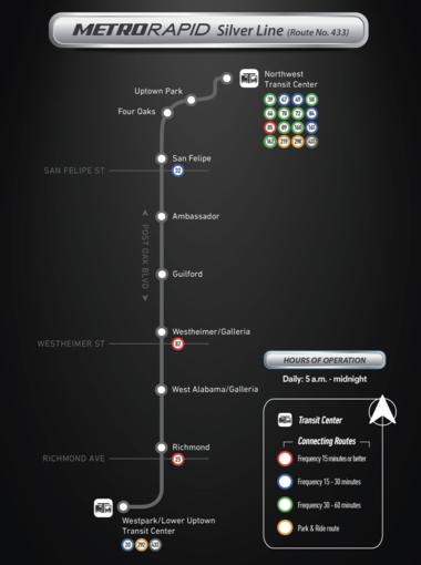 silverline map