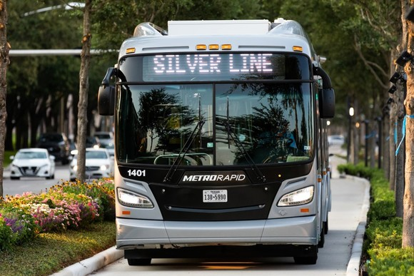 Silver line vehicle