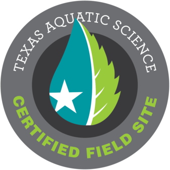 Texas Aquatic Science Certified Field Site logo