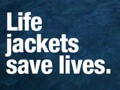 Life jackets save lives