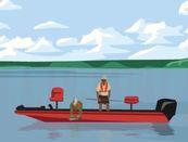 Anglers on Lake