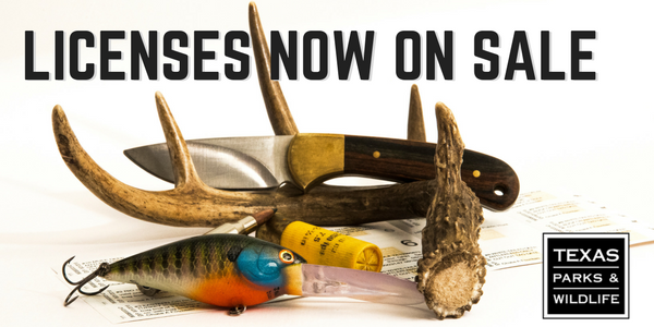 Texas fishing and hunting license on sale for Where to buy texas fishing license