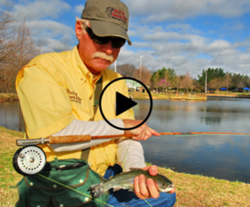 fisherman with trout, link to video