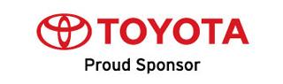Toyota Proud Sponser