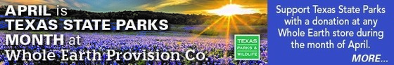 April is State Park Month at Whole Earth Provision Co., link