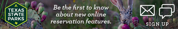 Be the first to know about new online reservation features.
