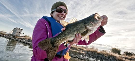 White hot winter fishing