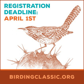 Birding Classic deadline April 1, link