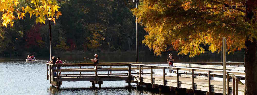 Daingerfield fishing pier