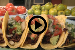 feral hog tacos with link to video