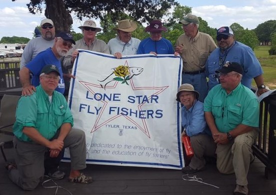 Lone Star Fly Fishing Club members