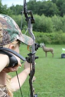 3d archery practice