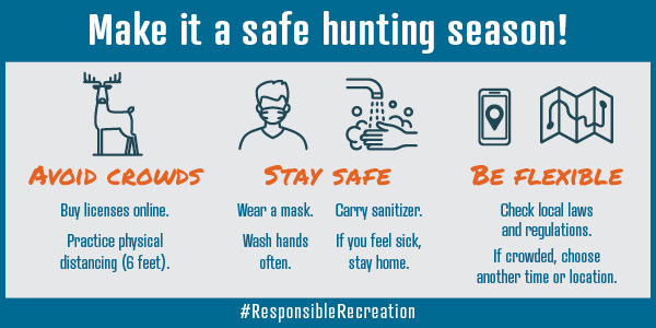 Be a responsible hunter, be safe.
