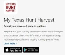 my texas hunt app