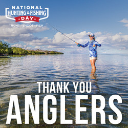 Thank You Anglers message