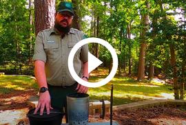 Ranger John and Dutch oven - video link
