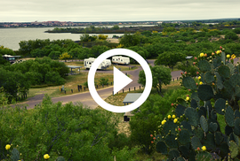 Lake Casa Blanca State Park with video link