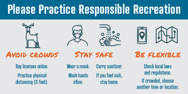Safety graphic for hunters with link