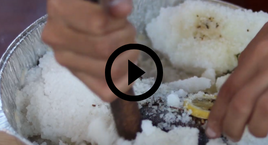 salt crust on trout  with video link
