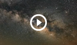 Milky Way at Copper Breaks, with video link
