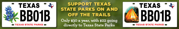 License plates that support state parks, with link