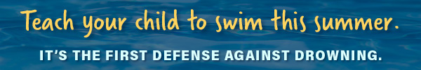 Teach Your Child to Swim This Summer, with link