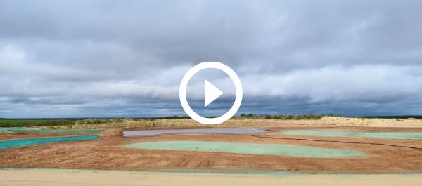 landscape of restored habitat at San Pedro Ranch, video link