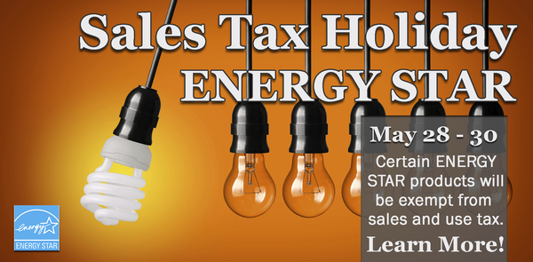 Sales Tax Holiday on Energy Star Products
