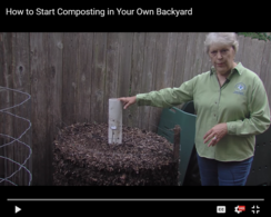 How to Start Composting in Your Own Backyard Video