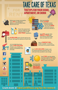 Ten Tips for Renters Infographic