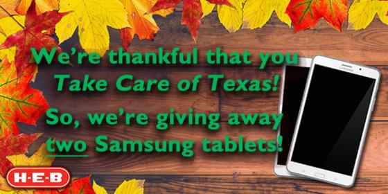 Tablet Giveaway!