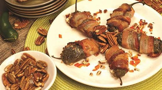 Pecan Stuffed Jalapenos