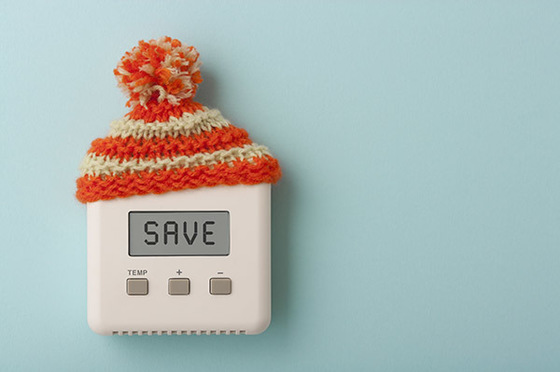 Thermostat with Warm Hat