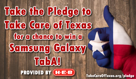 Take Care of Texas Pledge Contest