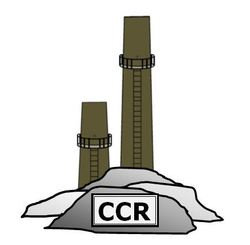 Coal stacks icon