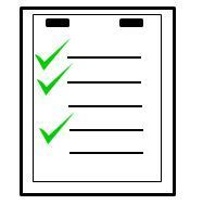 Checklist with Checkmarks